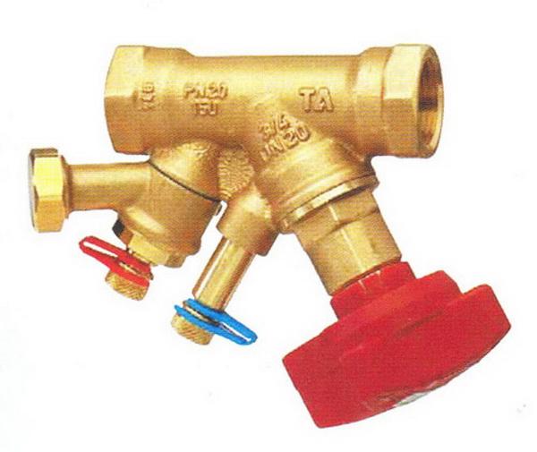 Что такое балансировочный клапан для системы отопления 2
