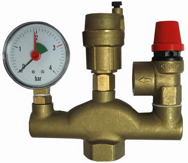 Устанавливаем байпасный клапан в системе отопления 3