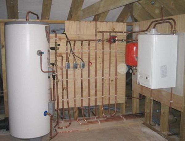 Устанавливаем байпасный клапан в системе отопления 4