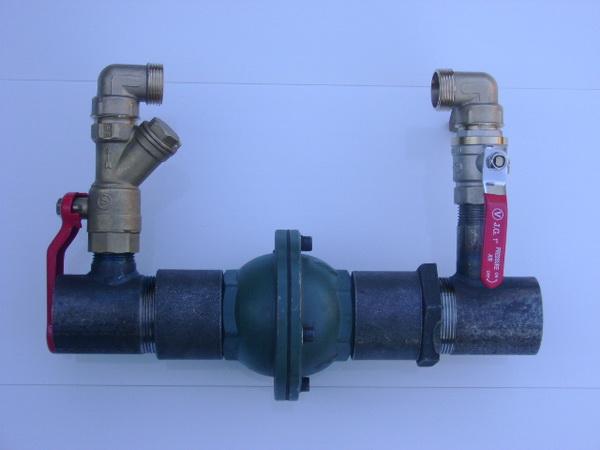 Устанавливаем байпасный клапан в системе отопления 5
