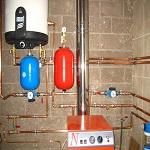 Коллекторная система отопления двухэтажного дома 1