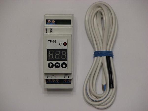 Ставим терморегулятор для насоса системы отопления 3