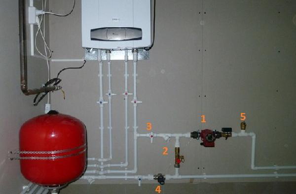 Ставим терморегулятор для насоса системы отопления 5