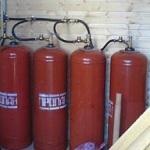 Как обустроить отопление дачного дома газовыми баллонами 1