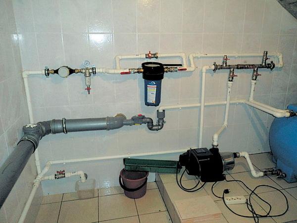 Подключаем насос в систему отопления 5