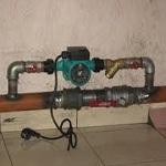 Подключаем насос в систему отопления 1