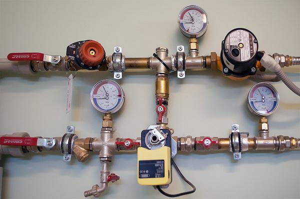 Упало или растет давление в системе отопления - ошибки при монтаже системы отопления 3