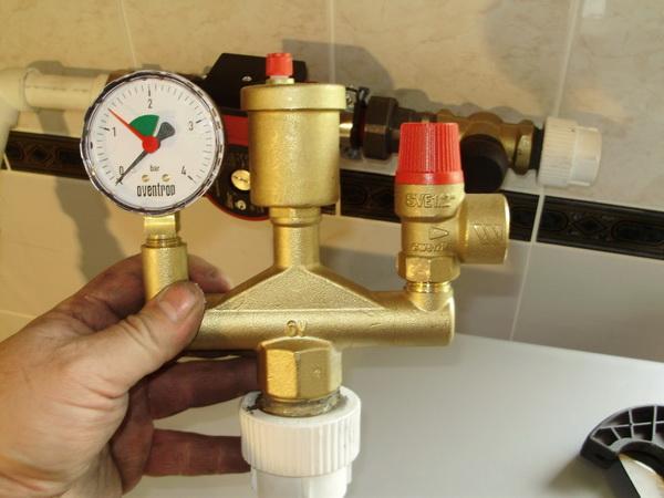 Упало или растет давление в системе отопления - ошибки при монтаже системы отопления 4