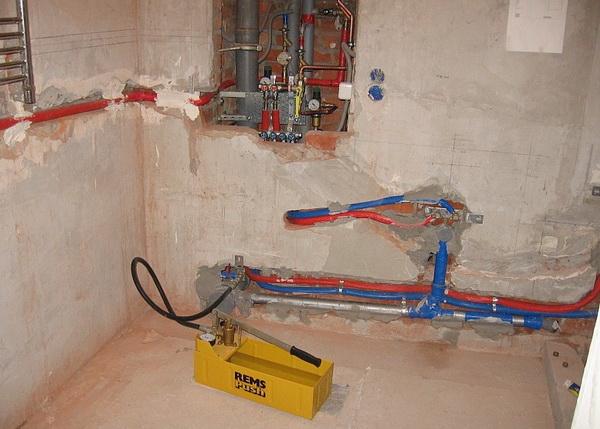 Упало или растет давление в системе отопления - ошибки при монтаже системы отопления 5