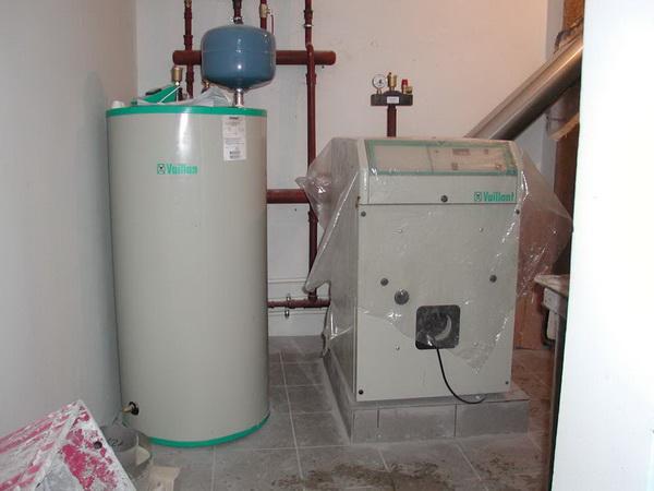 Дизельный котел отопления - расход топлива на отопление и ГВС 2