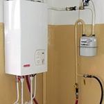 Индивидуальное газовое отопление в квартире 1