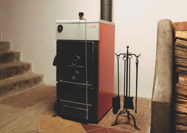 Комбинированные котлы отопления газ - дрова - что это такое 3