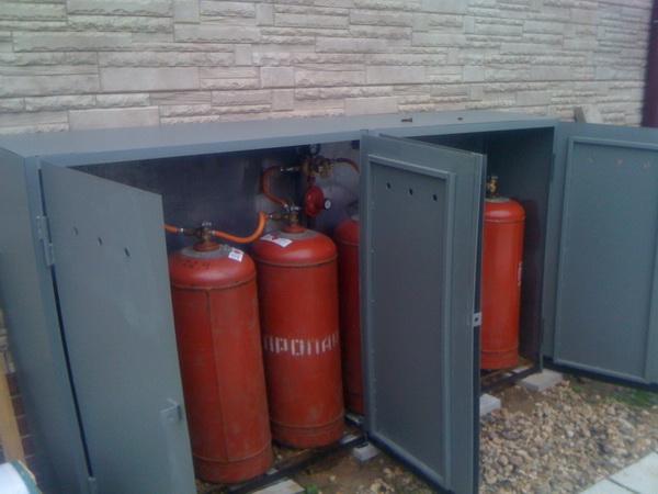 Отопление частного дома газовыми баллонами – все возможные виды 2