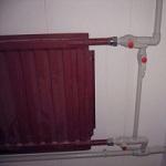 Правильное подключение батареи к системе отопления в квартире 1