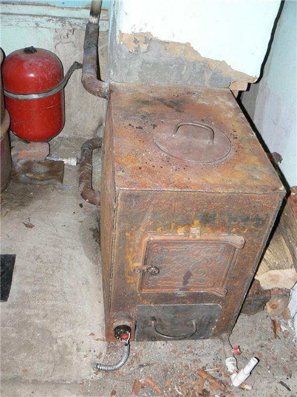 Самодельный котел для водяного отопления в частном доме 2