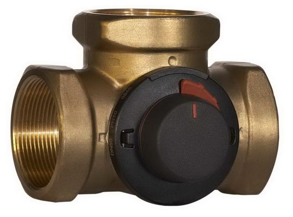 Что такое трехходовой клапан на системе отопления 2