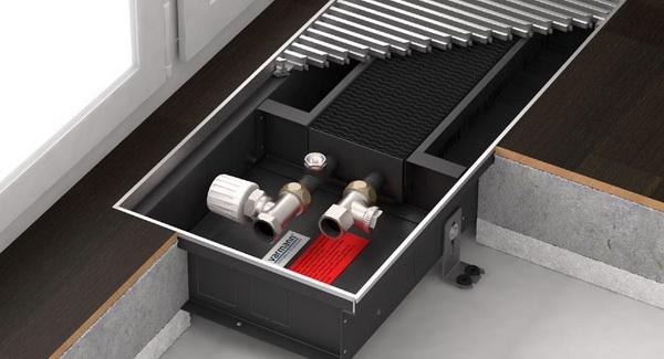 Что такое внутрипольные конвекторы отопления водяные 4