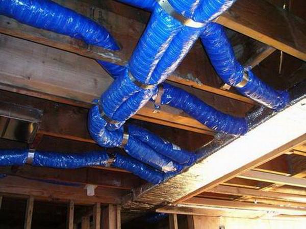 Воздушная система отопления частного дома - как сделать своими руками 3