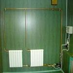 Схема отопления частного дома с принудительной циркуляцией 1
