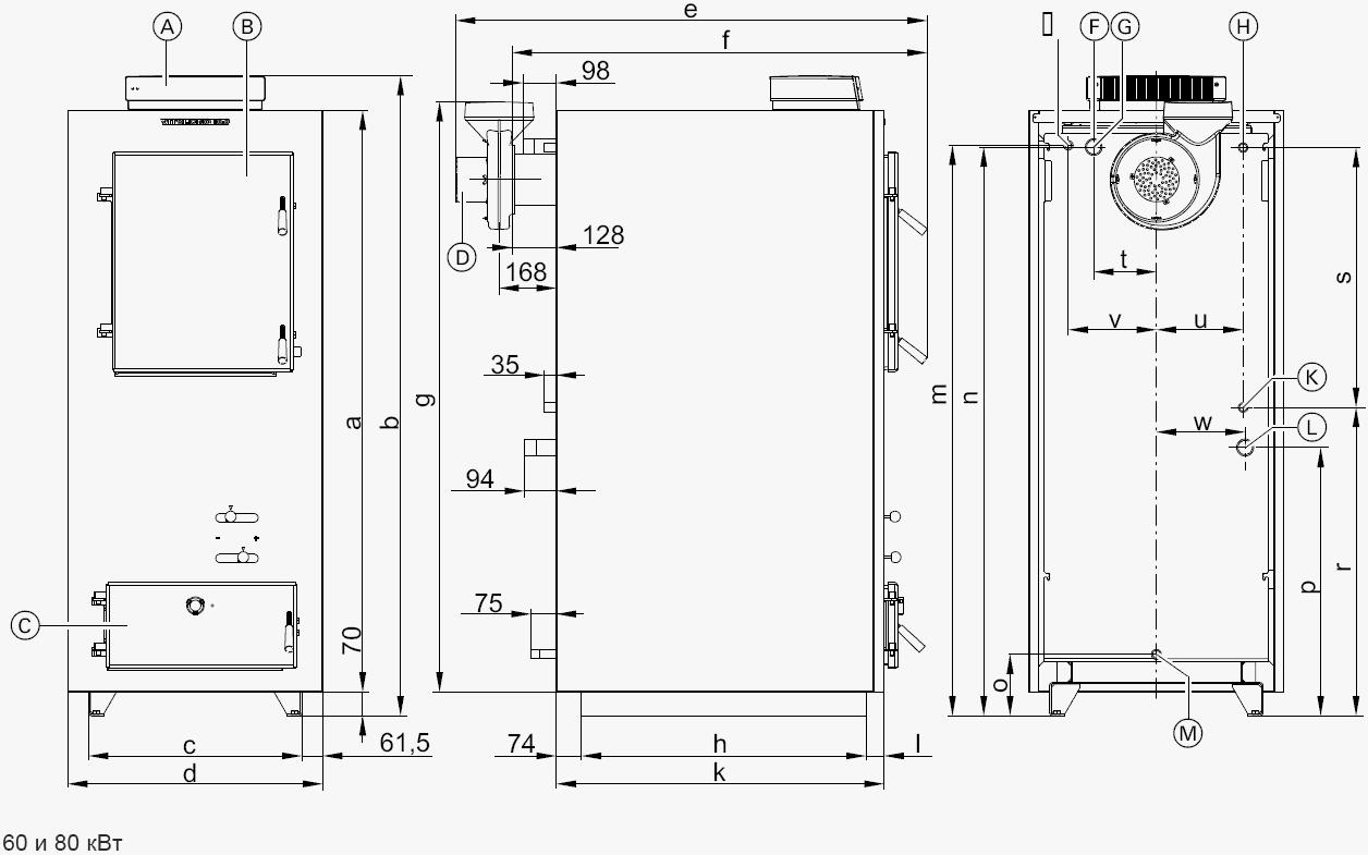 Твердотопливный котел своими руками - чертежи 3