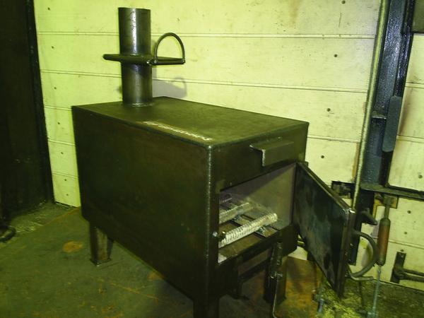 Печь для гаража своими руками – отопление гаража на дровах 3