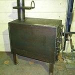 Печь для гаража своими руками – отопление гаража на дровах 1