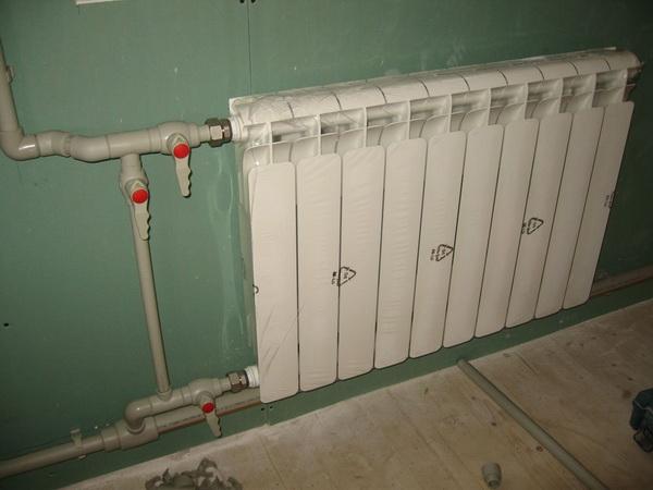 Подключение радиатора отопления к полипропиленовым трубам - варианты 3