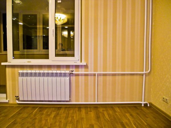 Подключение радиатора отопления к полипропиленовым трубам - варианты 4