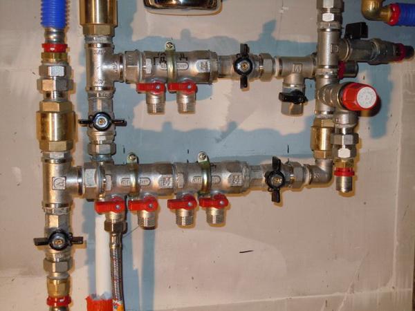 Коллекторная система отопления двухэтажного дома 5
