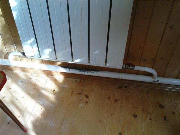 Отопление дома своими руками ленинградка фото