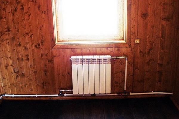 Однотрубная схема отопления