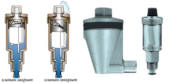 Как работает автоматический спускник воздуха системы отопления в частном доме 4