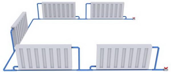 Давление, скорость воды и температура обратки в системе отопления 4