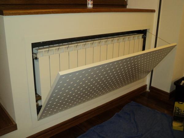 Экраны для батарей отопления - лучшие дизайны на фото 4