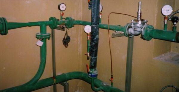 Элеваторный узел системы отопления дома 2