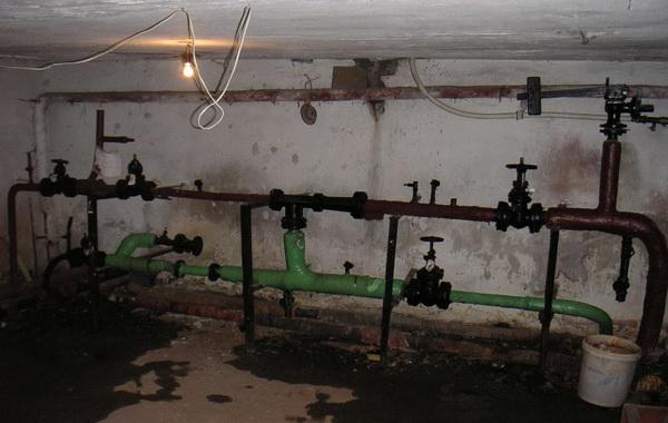 Элеваторный узел системы отопления дома 3