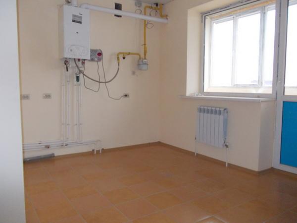Индивидуальное газовое отопление в квартире 2