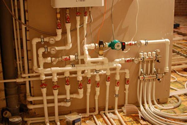 Индивидуальное газовое отопление в квартире 3