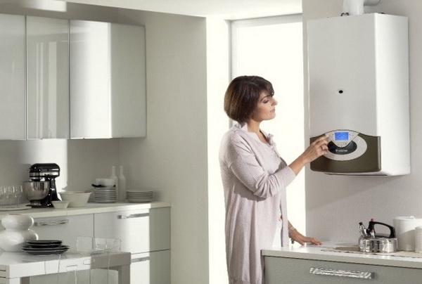 Индивидуальное газовое отопление в квартире 4