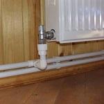 Как работает лучевая схема системы отопления двухэтажного дома 1