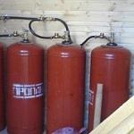 Отопление частного дома газовыми баллонами – все возможные виды 1