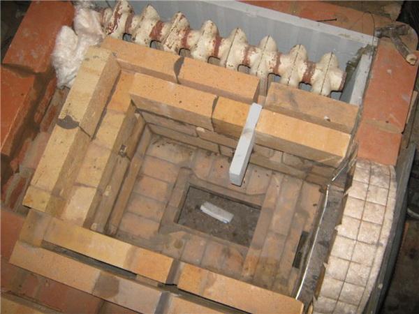 Конвекционная печь на дровах