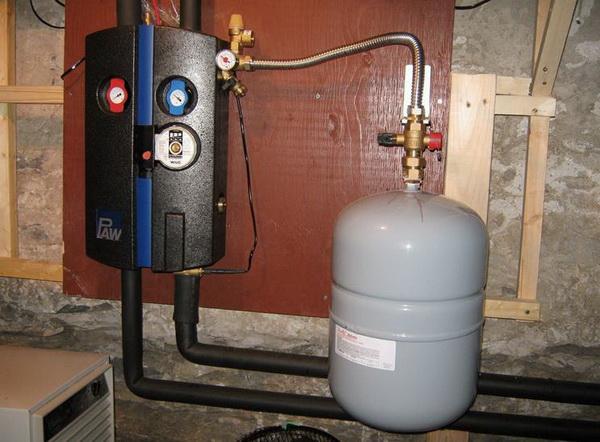 Схема отопления двухэтажного дома с естественной циркуляцией - система отопления самотеком 5