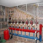 Схема отопления двухэтажного дома с естественной циркуляцией - система отопления самотеком 1