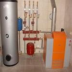 Технологическая карта на систему отопления – чертеж и условные обозначения системы отопления 1