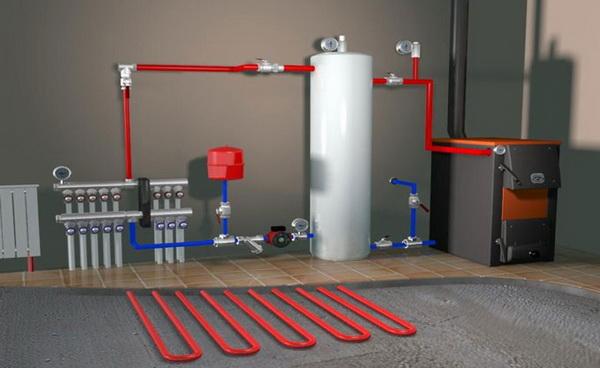Как заправлять систему отопления теплоносителем - расчет, давление, скорость, нормативы 2