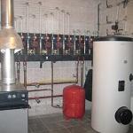 Системы отопления частного дома - фото, чертежи и схемы 1