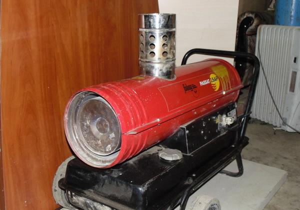 Как работают тепловые пушки на солярке 2