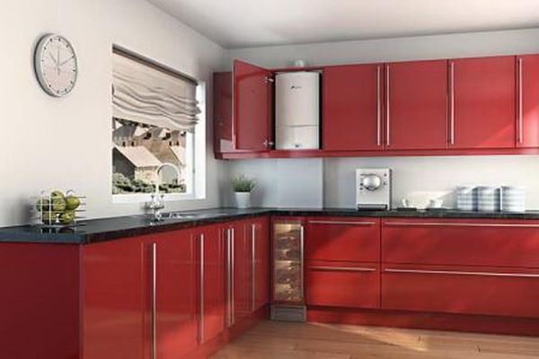 Как можно спрятать газовый котел на кухне – фото и варианты 3