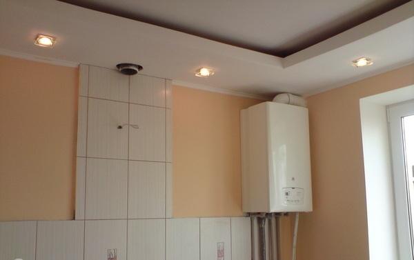 Как можно спрятать газовый котел на кухне – фото и варианты 8